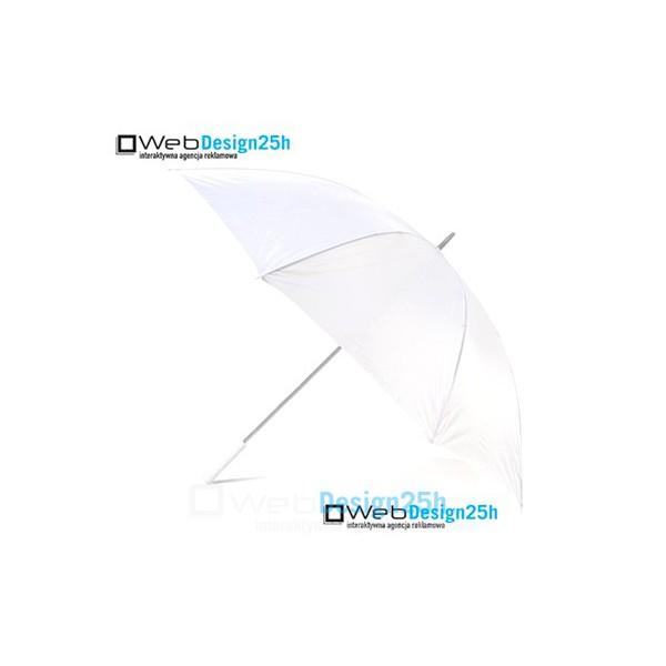 Parasole białe 10 sztuk