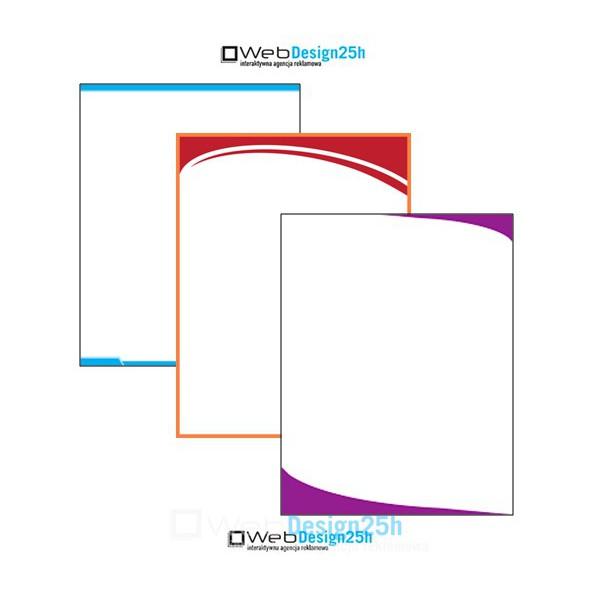 Papier firmowy, jednostronne, A4
