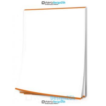 NOTESY A5 bez okładki 100 kartek - WebDesign25h.pl agencja reklamowa radom