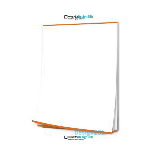 NOTESY A6 bez okładki 100 kartek - WebDesign25h.pl agencja reklamowa radom