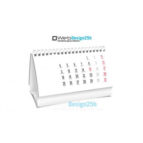 Kalendarze biurkowe A5 spiralowane - WebDesign25h.pl agencja reklamowa radom