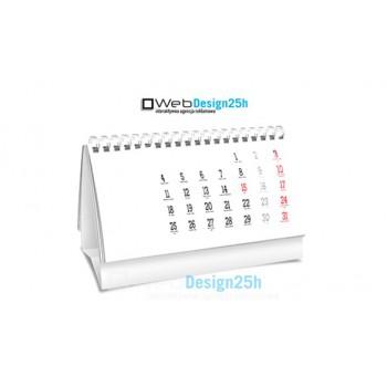 Kalendarze biurkowe DL spiralowane - WebDesign25h.pl agencja reklamowa radom