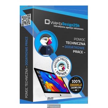 Pomoc techniczna - dodatkowe prace - webdesign25h