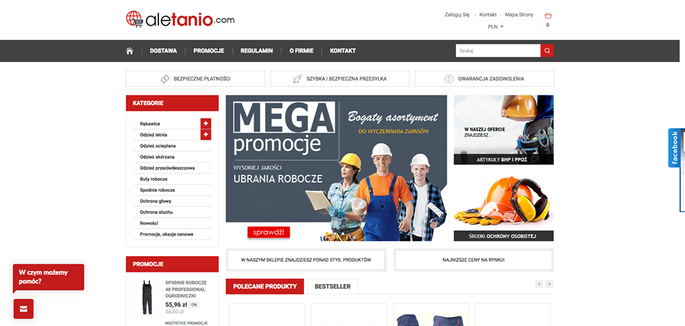 Realizacja www.aletanio.com - webdesign25h