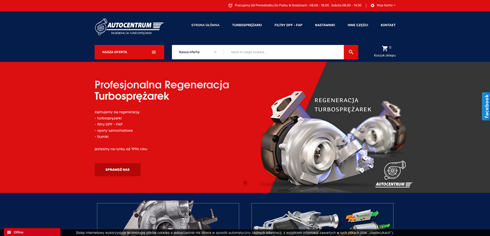 Realizacja www.naprawaturbosprezarek.biz - webdesign25h