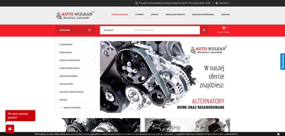 Realizacja www.autowulkan.pl - webdesign25h
