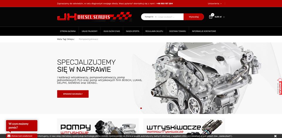 Realizacja www.diesel-serwis.pl - webdesign25h