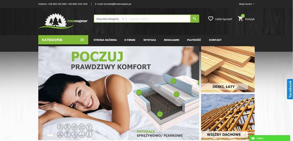 Realizacja www.holzmajster.pl - webdesign25h