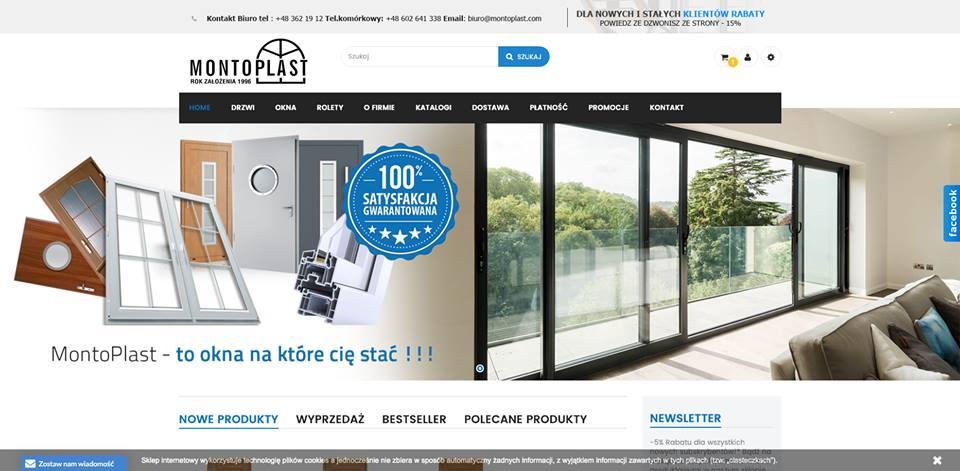 Realizacja www.montoplast.com - webdesign25h
