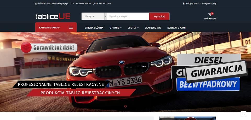 Realizacja www.tabliceue.pl - webdesign25h