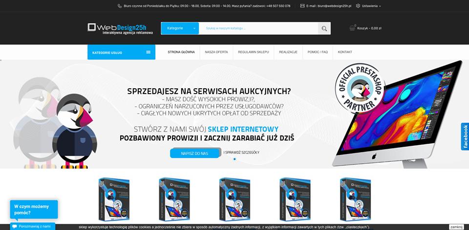 Realizacja www.webdesign25h.pl