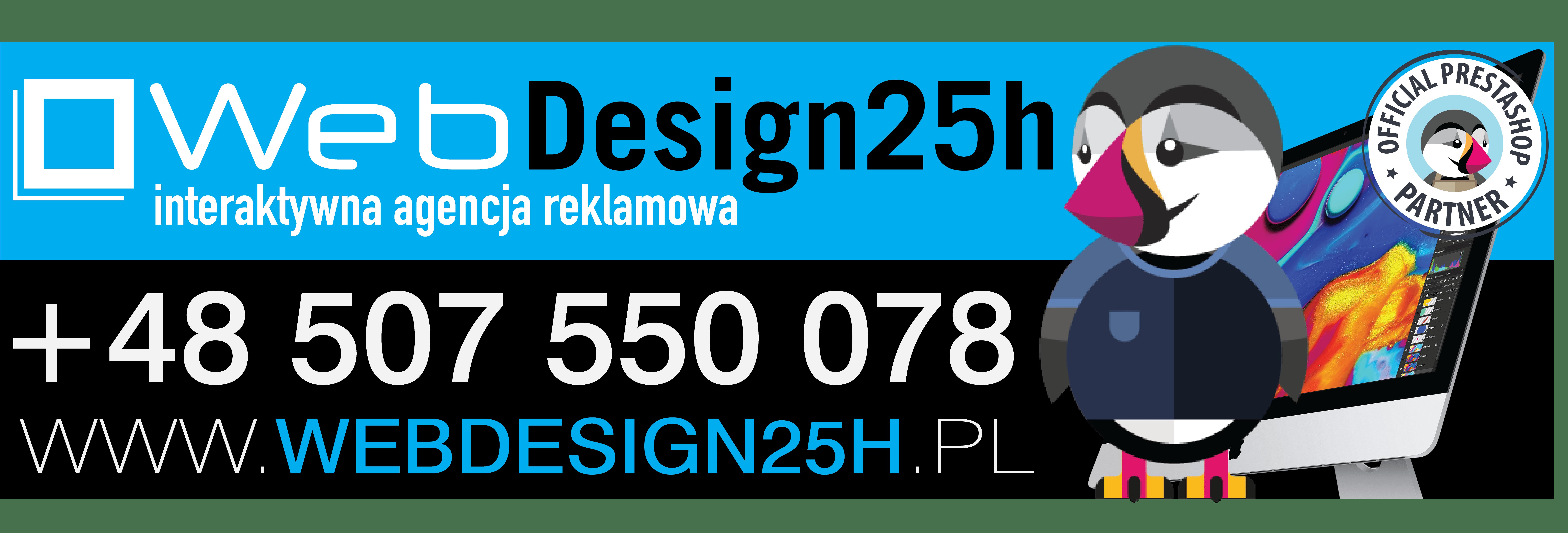 Agencja reklamowa WebDesign25h Kamil Mazan